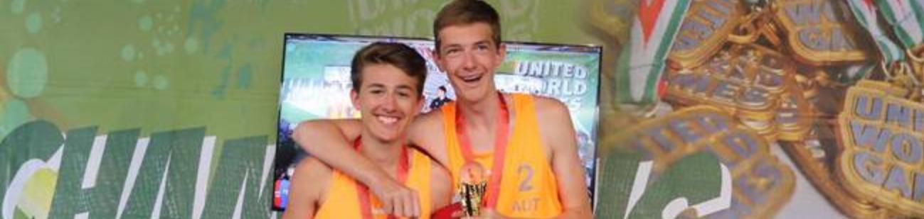 Gold bei den United World Games für Timo und Bernhard