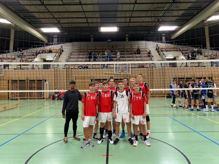 U18 Burschen beim 47. internationalen Sokol V-Nachwuchsturnier