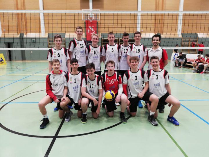 8. Platz bei den U20 ÖMS